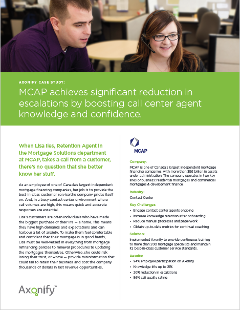 MCAP case study
