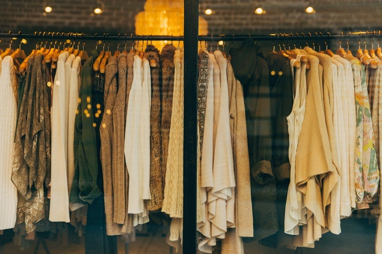 Retail Store with Clothes