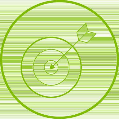 Bullseye iconography.