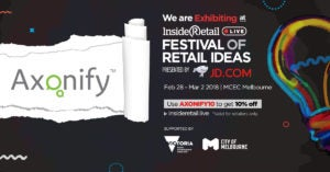 Inside Retail Live – Festival of Retail Ideas: Use AXONIFY10 to get 10% off