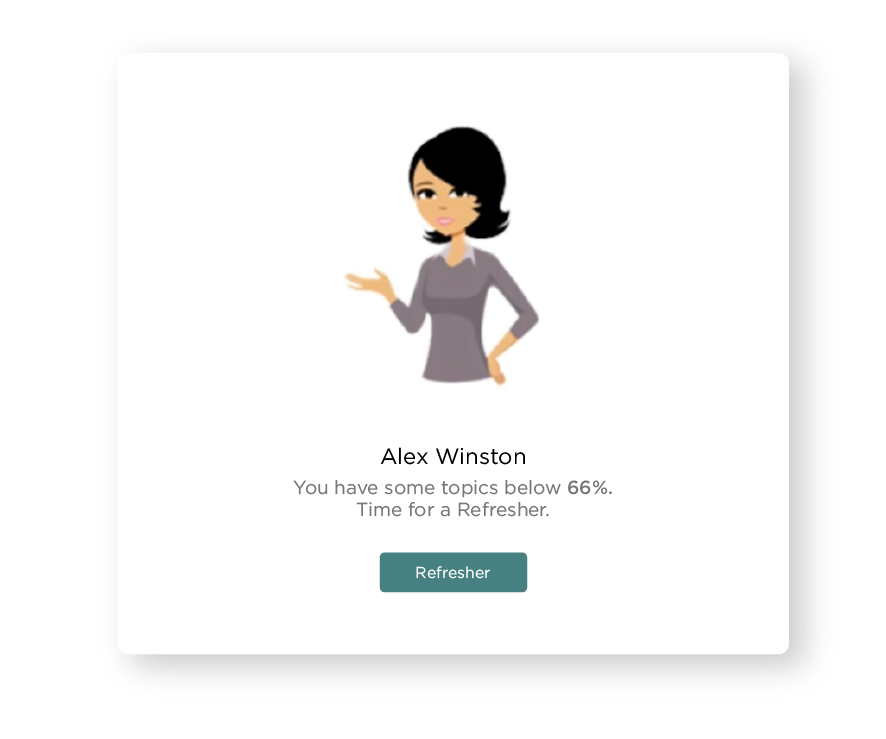 Microlearning Adaptive Experience