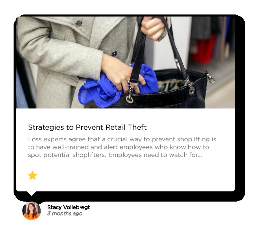 Prevent Retail Theft
