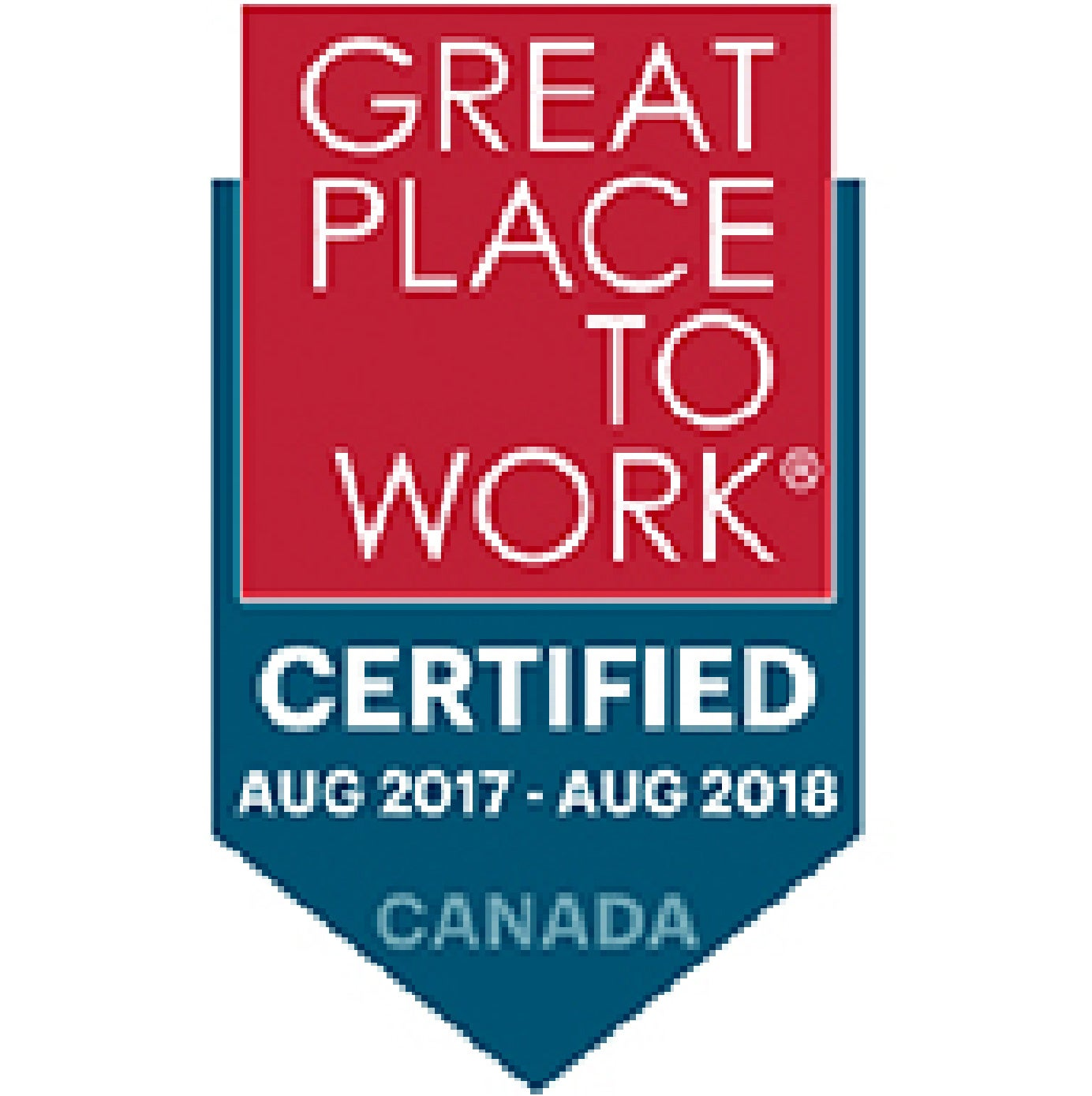 2017-2018 Great Place To Work Certified