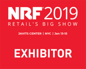 NRF 2019 Exhibitor badge