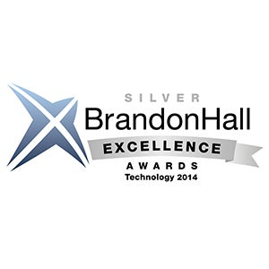 "<h4>2014 Best Advance in Unique Learning Technology -Silver</h4> The Excellence Awards recognize the best organizations that have successfully deployed Brandon Hall 2014 programs, strategies, modalities, processes, systems, and tools that have achieved measurable results. The program attracts entrants from leading corporations as well as mid-market and smaller firms around the world.   <p class=""p1""><a href=""""http://brandonhall.com/excellence-technology.php?year=2014#Best%20Advance%20in%20Unique%20Learning%20Technology"""" target=""""_blank""""> Read more about this award <i class=""fas fa-angle-right""></i></a>"