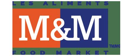 M&M Food Market logo