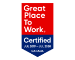 Great Place to Work Certified Jul 2019–Jul 2020 Canada