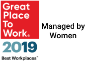 Best Workplaces Managed by Women 2019